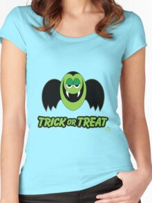 Vampire Count Trick or Treat Women's Fitted Scoop T-Shirt