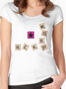 Word Nerd Women's Fitted Scoop T-Shirt