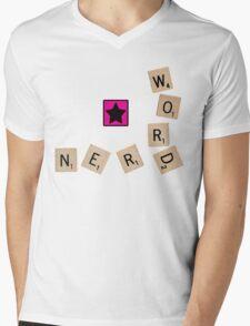 Word Nerd Mens V-Neck T-Shirt