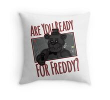 Five Night at Freddy Quotes Throw Pillow