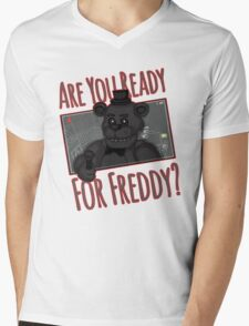 Five Night at Freddy Quotes Mens V-Neck T-Shirt