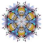 Taqueria Power Mandala by Jamila Tazewell
