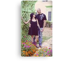 Shane and Autumn Canvas Print