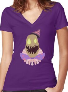 Surprise Party Fiddlesticks Women's Fitted V-Neck T-Shirt