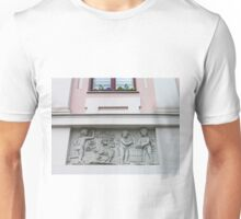 Bas-relief on Hikisch House Unisex T-Shirt