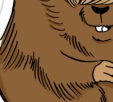 Bieber Beaver Sticker