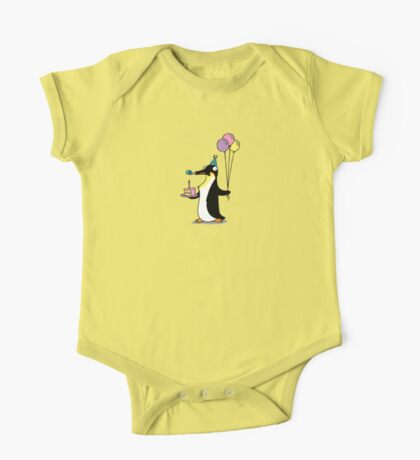 Party Time Penguin One Piece - Short Sleeve