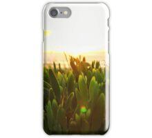 Sunrise greenery iPhone Case/Skin