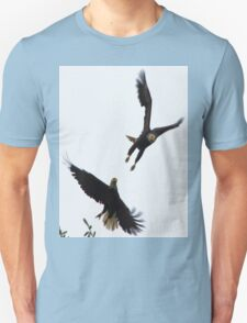 Two Jumping Eagles Unisex T-Shirt