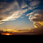 Sunset over the Central Highlands by Anthea Bennett