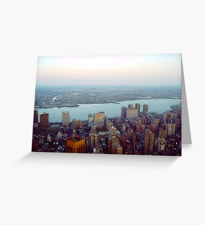 New York City View Greeting Card