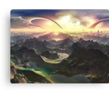 Angels Valley - New Eden Canvas Print