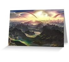 Angels Valley - New Eden Greeting Card