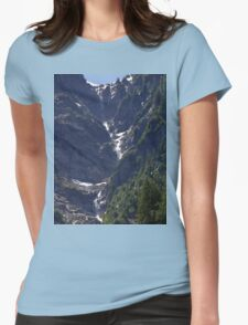 Avalanche Circle Of Trees  Womens Fitted T-Shirt