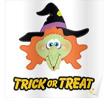 Witch Trick or Treat Poster