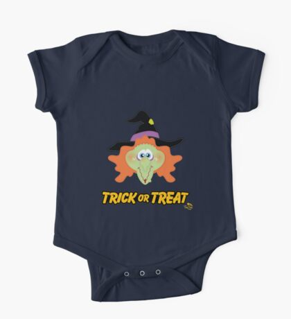 Witch Trick or Treat One Piece - Short Sleeve
