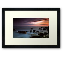 The Heaven's Speech Framed Print