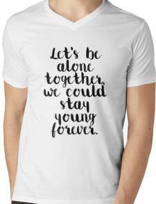 Fall Out Boy Lyric Mens V-Neck T-Shirt