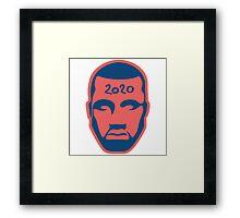 West 2020 President Framed Print