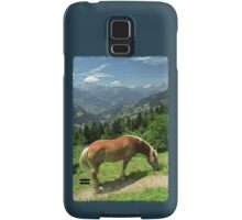 Horse at Kristberg (iPhone case) Samsung Galaxy Case/Skin