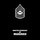 USMC E8 MSgt BW by Sinubis