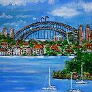 Sydney my Sydney! -2 by Angela Gannicott