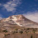 Mt Hood glacier by Gerard Rotse