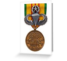 Vietnam Master Airborne Greeting Card