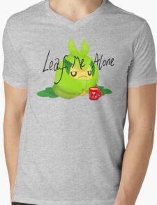 Leaf Me Alone Mens V-Neck T-Shirt
