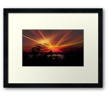 Star Sunrise © Framed Print