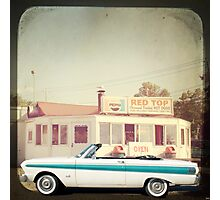 September - Drive in Photographic Print