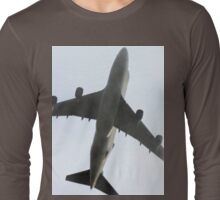 Ted New Jet In The Fog  Long Sleeve T-Shirt