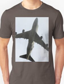 Ted New Jet In The Fog  Unisex T-Shirt