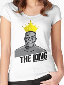 King Megatrip's Punch Out (light t-shirts) Women's Fitted Scoop T-Shirt