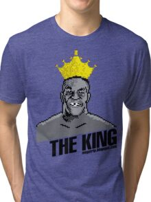King Megatrip's Punch Out (light t-shirts) Tri-blend T-Shirt
