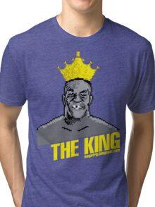 King Megatrip's Punch Out (dark t-shirts) Tri-blend T-Shirt