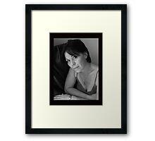 PORTRAIT PHOTO #4 Framed Print