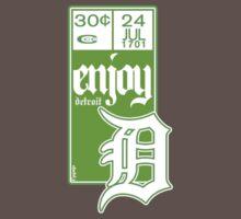 Enjoy Detroit - Comic Indicia by dubl3
