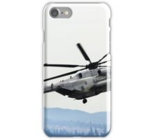 Marine Helicopter At Air Show iPhone Case/Skin