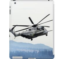 Marine Helicopter At Air Show iPad Case/Skin