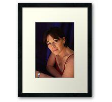 PORTRAIT PHOTO #5 in color Framed Print