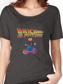 Brick to the Future with Marty Mcfly Women's Relaxed Fit T-Shirt