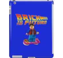 Brick to the Future with Marty Mcfly iPad Case/Skin