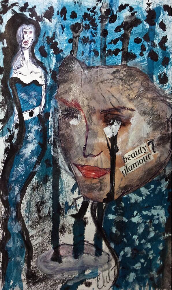 Idealized Blues of Mine... by C Rodriguez