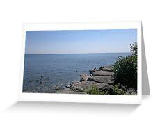 Lake Ontario Greeting Card