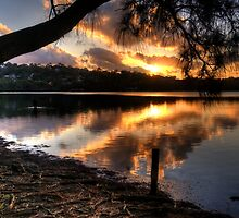 Twilight Meditation - Narrabeen Lakes, Sydney - The HDR Experience by Philip Johnson