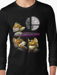 20XX: Three Fox Moon Long Sleeve T-Shirt