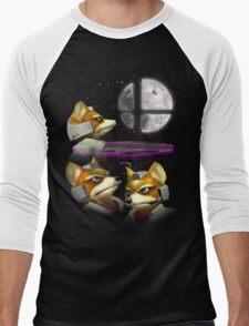 20XX: Three Fox Moon Men's Baseball ¾ T-Shirt