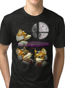 20XX: Three Fox Moon Tri-blend T-Shirt