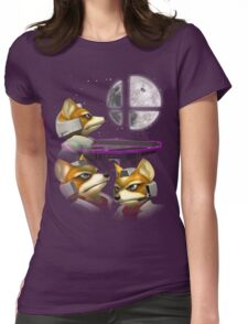 20XX: Three Fox Moon Womens Fitted T-Shirt